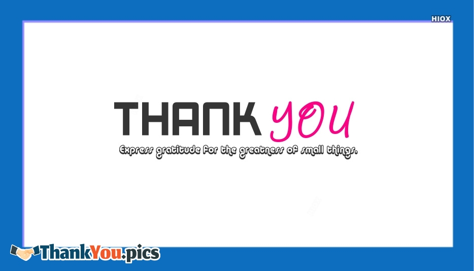 Thank You Images for Gratitude Quotes
