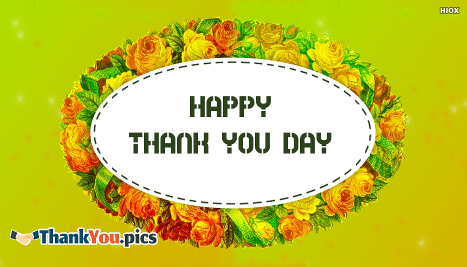 Happy Thank You Day Card