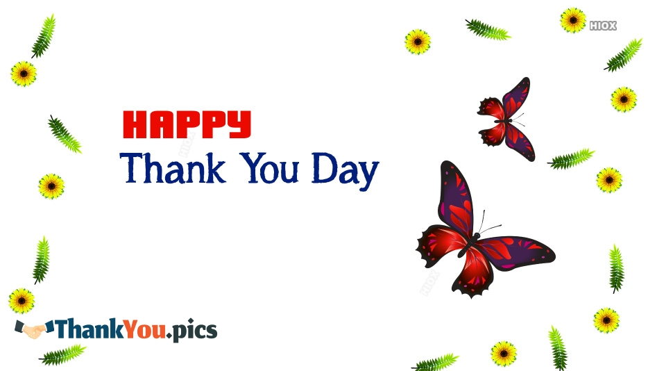 Happy Thank You Day