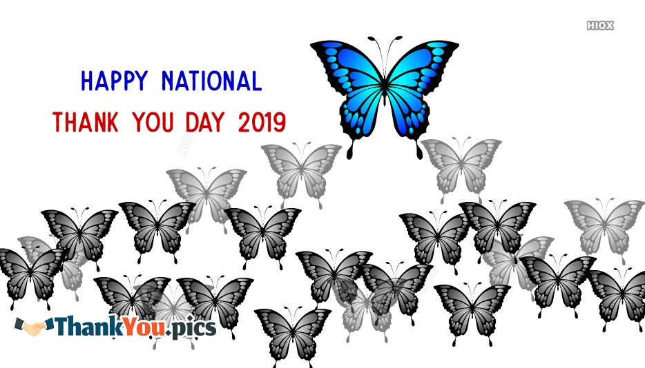 National Thank You Day Greeting