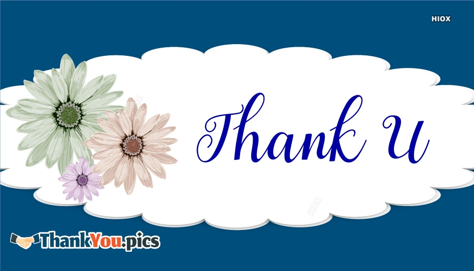 Unique Thank You Images, Messages