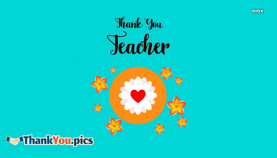 Thank You A Teacher