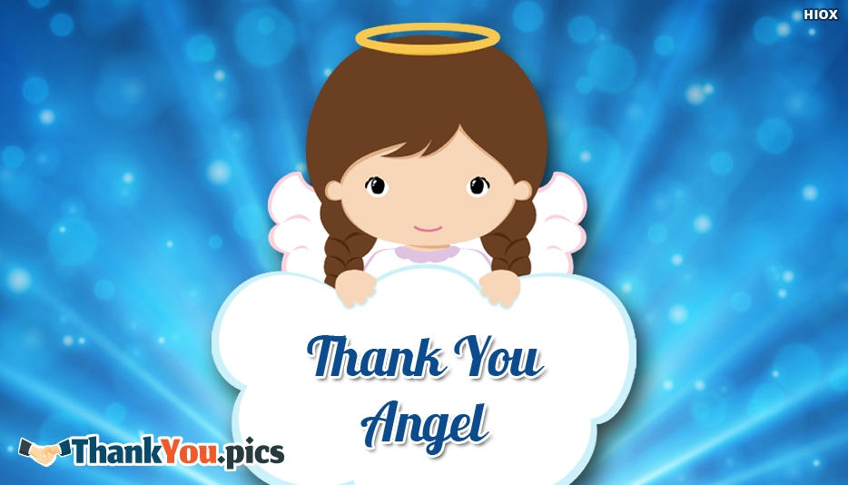 Thank You Angel Ecard