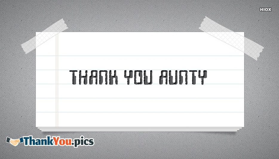 Thank You Aunty Images