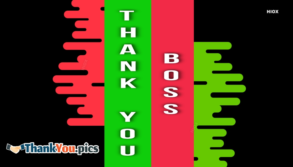 Thank You Images For Boss