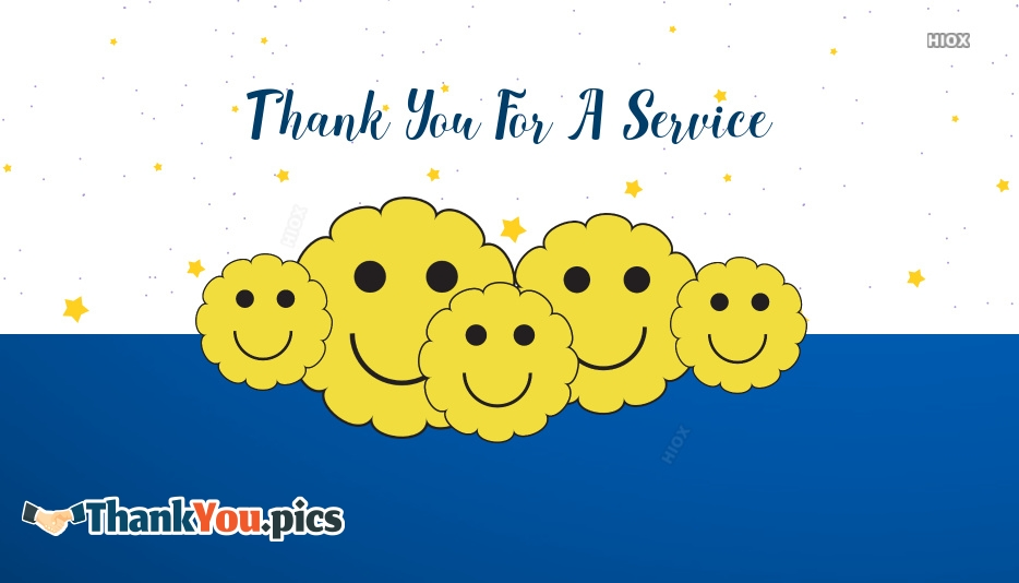Thank You For A Service