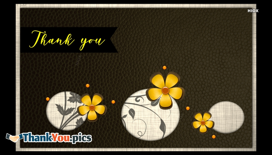 Thank You Images for Greetings
