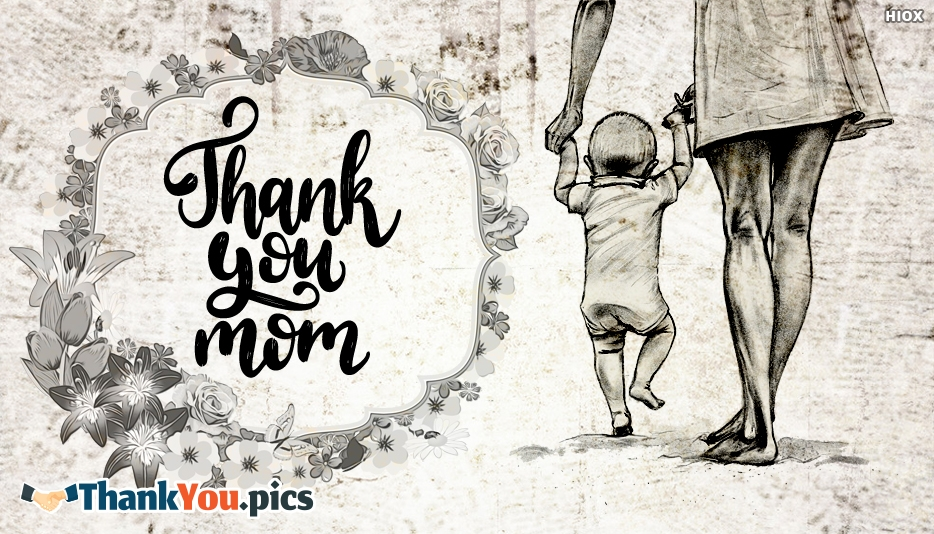 Thank You Mom Quotes Images