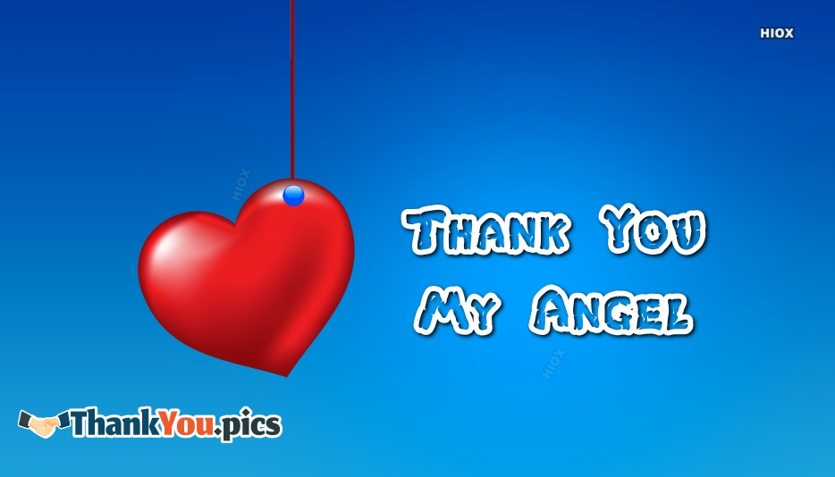 Thank You My Angel Images