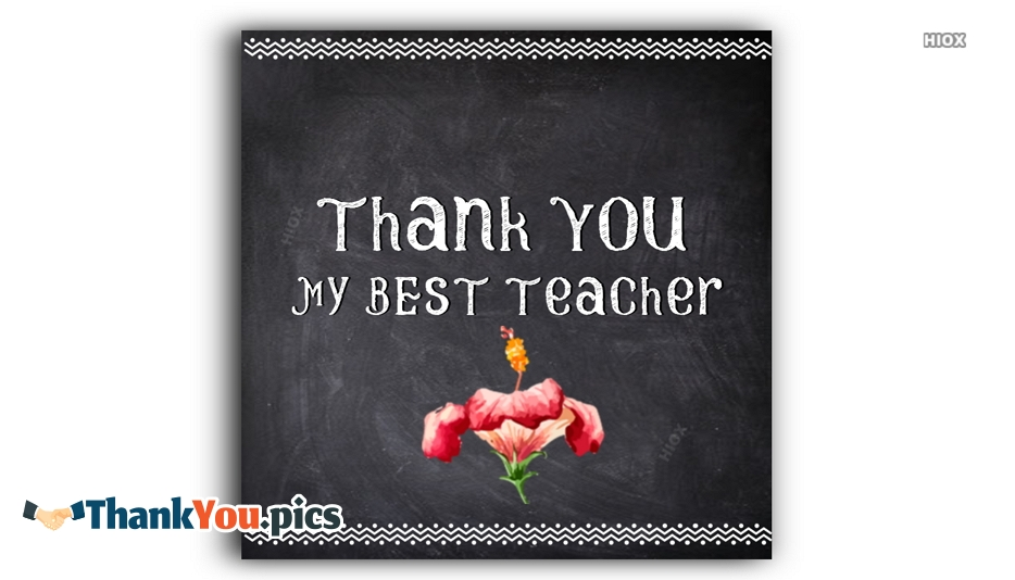 Thank You Images For Teachers