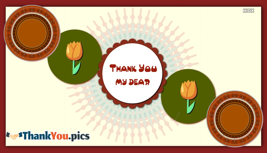 Thank You My Dear Images