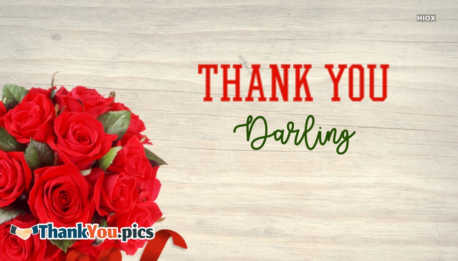 Thank You Red Rose Images