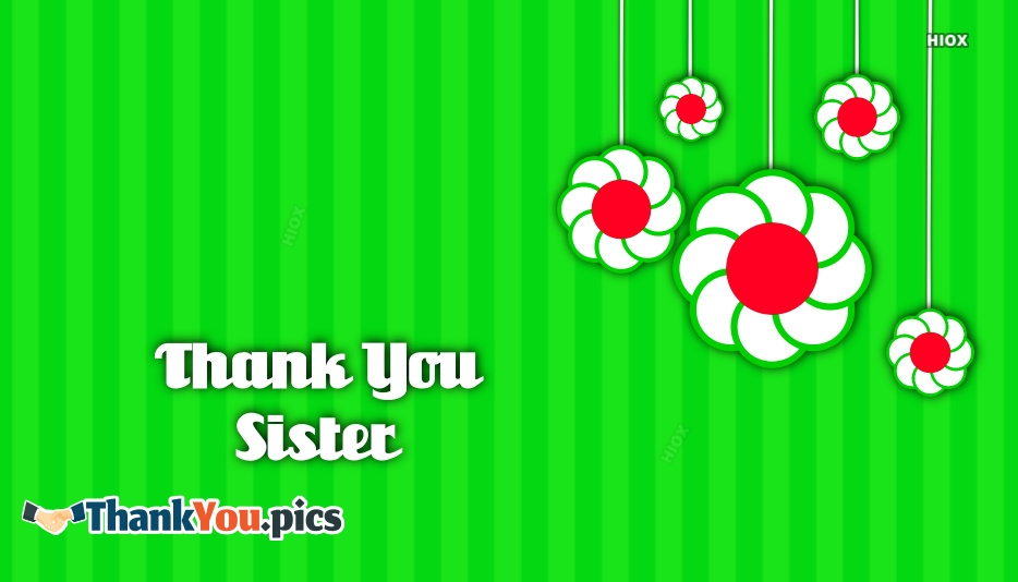 Thank You Sis Images, Pictures