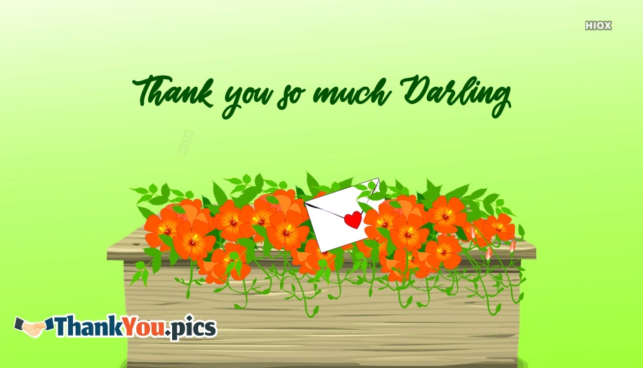 Thank You Images For Darling