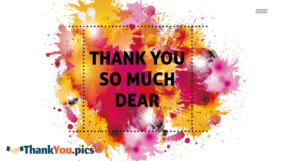 Thank You Colorful Images
