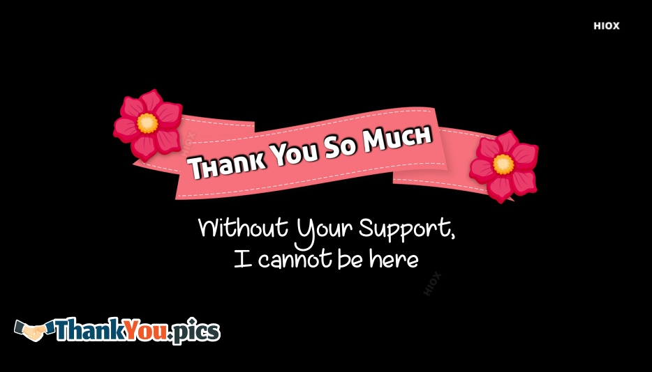 Thank You Images For Support