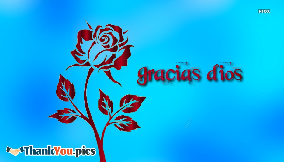 Thank You So Much In Spanish | Gracias Dios