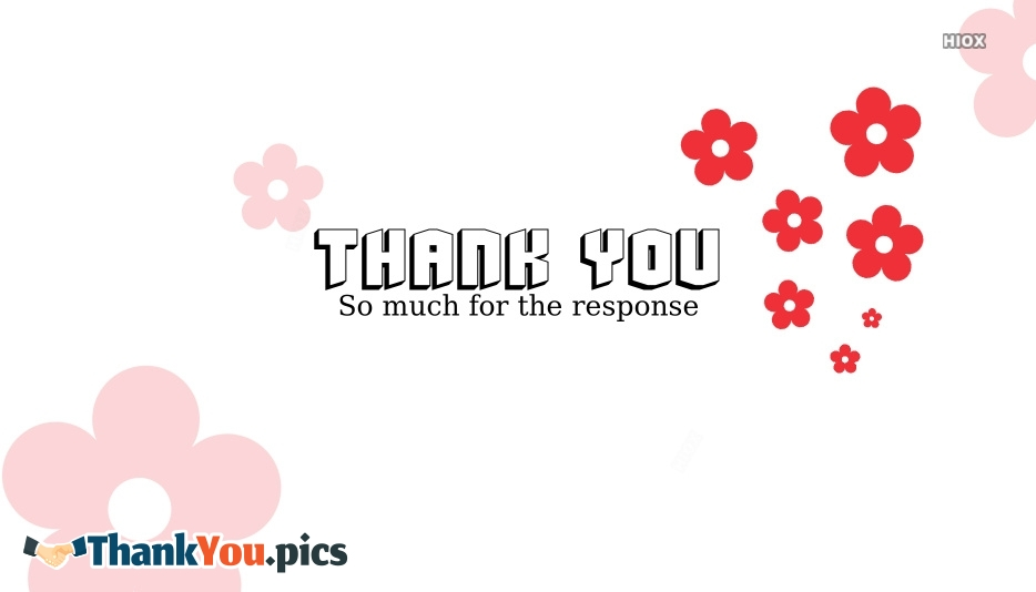 Thank You Images for Response