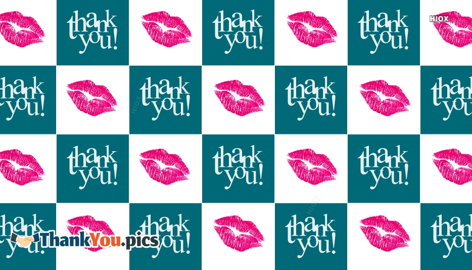 Thank You With A Kiss