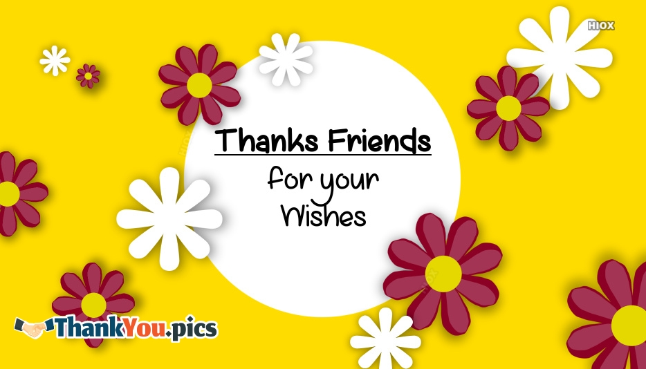 Thank You Wishes Images