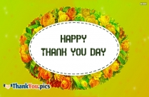 Happy Thank You Day 2020