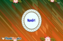 Nandri Message