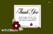 Thanks A Lot Friends