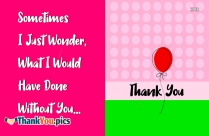 Thank You Sayings Image