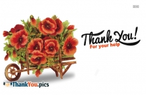 Thanks Flower Images