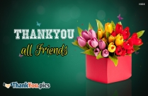 Thank You All Friends Image