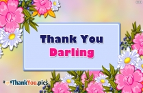 Thank You Darling