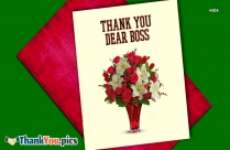 Thank You Dear Boss