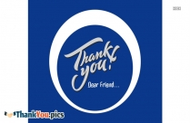 Thank You Dear Friend Image