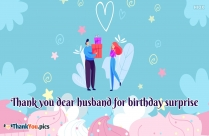 Thanks Message For Husband