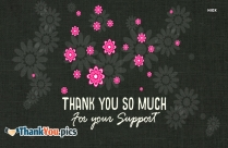 Thank You For Your Support Image