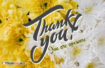 Thank You Message For Special Someone