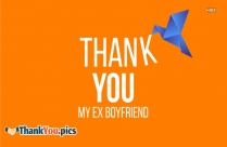 Thank You My Ex Boyfriend
