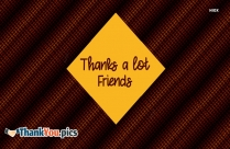 Thank You Friends
