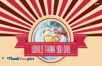 World Thank You Day 2019