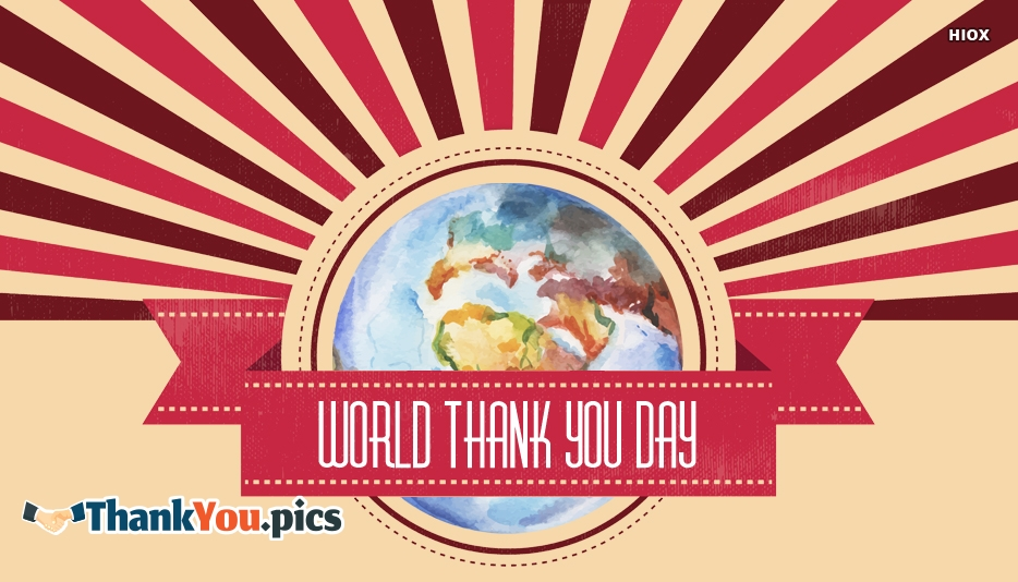 World Thank You Day Images